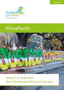 Titelblatt_Aktionsheft_Klimaflucht